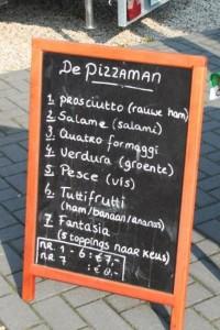 De drenthse roos pizzaman