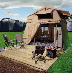 sky lodge skylodge Drenthse Roos Drenthe Camping Tent ingericht